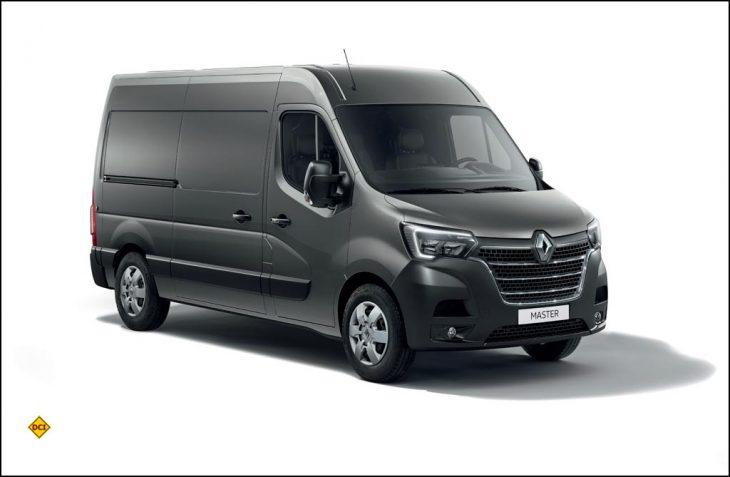 Ranault hat seine leichten Transporter wie den Master mit einem Facelift auf neuesten Stand gebracht. (Foto: Renault)