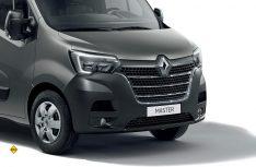 Die aktuelle Master-Baureihe ist an der modifizierten Front mit den typischen Renault-Markengesicht zu erkennen. (Foto: Renault)