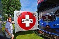 """Der Schweizer Andreas Gassmann hat sich mit """"Helvetic One"""" einen Traum erfüllt. (Foto: det / DCI)"""