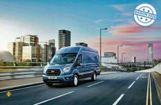 Ford hat seinen leichten Transporter Transit modellgepflegt und durch eine Gewichtsreduzierung die Nutzlast erhöht. (Foto: Ford)