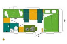 Grundriss Streckeman Evolution 496 PE. (Grafik: Werk)