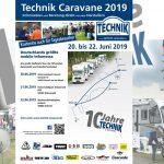Die Technik Caravane auf Jubiläums-Tour – 2019 zum zehnten Mal unterwegs