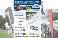Stattliches Jubiläum: Die Technik-Caravane 2019 besucht zur zehnjährigen Jubiläums-Tour drei Stationen an der Mosel. (Foto: Technik-Caravane)