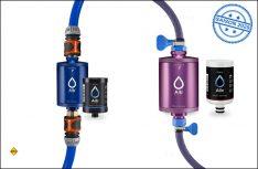 Sauberes Trinkwasser schon beim Befüllen von Wassertank oder Trinkflasche garantiert der neue Alb Filter von Pure One. (Foto: Alb Filter)
