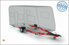 Vario X von Al-Ko: Mit dem neuen Chassis für Caravan gelingt dem Fahrzeugtechnikspezialisten Al-Ko ein absoluter Coup in Sachen Leichtbau. (Foto: Al-Ko)