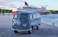 """Volkswagen T1 Kastenwagen """"Sofie"""" von 1950 wird in Bad Camberg zu sehen sein. (Foto: VWN)"""