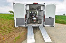 Maximale Variabilität: Auch Quads können mit den flexiblen Rampen im Biker Solution Multi untergebracht werden. (Foto: Werk)