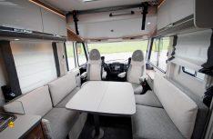 Der neue Trend I 7057 DBL hat eine aktuelle Lounge-Sitzgrupee mit zwei gegenüberliegenden Sitzbänken. (Foto: det / D.C.I.)
