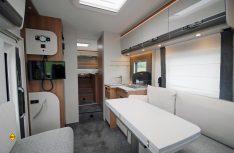 Den neuen Dethleffs Trend 7057 gibt es mit Einzelbetten oder Queensbett im Heck. (Foto: det / D.C.I.)