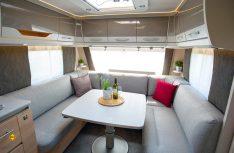 Die neue Dethleffs Caravan-Serie Nomad wird um den 490 BLF und den 490 EST erweitert. (Foto: Werk)