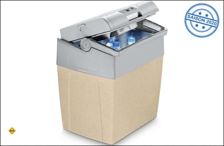 Mit der Kühlbox CoolFun SC30 B bringt Dometic die weltweit erste Box mit Bio-Kompositmaterial. (Foto: Dometic)