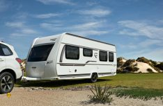 Fendt bietet mit den Baureihen Bianco Selection und Active wendige Reisecaravans an. (Foto: Werk)