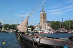 Blick auf die niederländische Hansestadt Hasselt. (Foto: Niederländische Hanse)