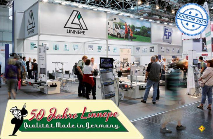 Seit 50 Jahre erfogreich in der Caravaning-Branche zu Hause: Linnepe feiert sein 50-jähriges Firmenjubiläum. (Foto: Linnepe)