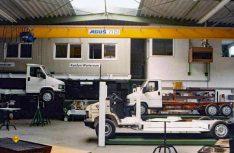 Die Chassisproduktion im Jahr 1986. (Foto: Linnepe)