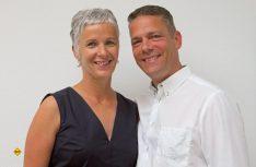 Die aktuelle Geschäftsführung von Linnepe: Andrea Hirsch-Linnepe mit ihrem Mann Nicolaus Hirsch. (Foto: Linnepe)
