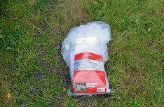 Eine ordentliche Verpackung und Aufbewahrung sind mit dem Plastikbeutel nicht optimal möglich. (Foto: det / D.C.I.)