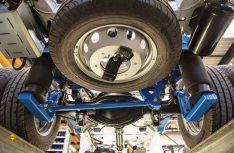 Die VB-FullAir 2C-Zusatzluftfederung gibt es jetzt auch für en VW Crafter / MAN TGE mit Zwillingsbereifung. (Foto: VB)