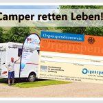 Camper retten Leben – Organspenden gehen alle an!