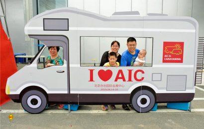 Messe All-in-Caravaning 2019 in Peking: Die Anzahl der Geschäftsabschlüsse ist rapide gestiegen und Besucherzahlen erreichten neuen Rekord. (Foto: AIC, Peking)