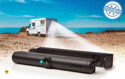 Dank einer neuen Schraubhalterung lässt sich die drahtlose Rückfahrkamera BC40 von Garmin noch flexibler befestigen. (Foto: Garmin)