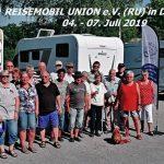 Nutzer-Lobby Reisemobil Union –  Neue West-Gruppe erhöht Kommunikation im Verband