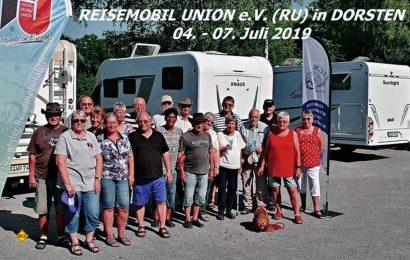 Die Nutzer-Lobby Reisemobil Union traf sich zur Gründung einer West-Gruppe in Dorsten. (Foto: Kalle Meyer / RU)