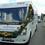 Elfte Arnold Janssen Reisemobil-Wallfahrt in Goch startet