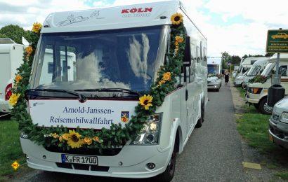 Zum elften Mal findet in Goch die Arnold Janssen Reisemobil-Wallfahrt mit Segnung der Reisemobile statt. (Foto: Stadt Goch)