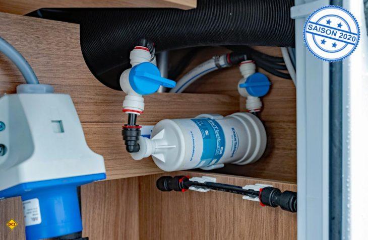 Alle Freizeitfahrzeuge von Knaus Tabbert haben ab der Saison 2020 serienmäßig ein BWT-Wasserfilsystem an Bord. (Foto; Werk)