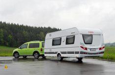 Dethleffs hat seine Mittelklasse-Caravanbaureihe Nomad komplett im Interieur und Außendesign erneuert und aufgewertet. (Foto: det / D.C.I.)
