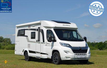 Mit dem neuen Modell V65 GQ erweitert Hobby die Baureihe und präsentiert die erste Queensbett-Lösung in einem Van.(Foto: det/D.C.I.)