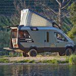Messesplitter Caravan Salon 2019 – Hymer päsentiert spektakuläres Concept Car VisionVenture