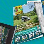 Mobil Total Ausgabe 2/2019 – Europas größter Reisemobil Stellplatz-Katalog am Kiosk