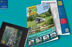 Mobil Total, Europas größter Stellplatz-Katalog ist jetzt wieder mit der top-aktuellen Ausgabe 2/2019 Herbst/Winter im Handel. (Foto: Mobil Total)
