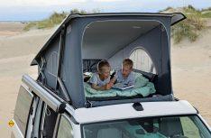 Die Nähe zur Natur kann man im Dachbett bei geöffneter Front wunderbar spüren.(Foto: VWN)