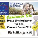 10 x 2 Eintrittskarten für den Caravan Salon 2019 gewinnen – Besuchen Sie die größte Messe für Reisemobile und Caravans