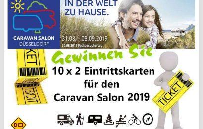 Immer einen Besuch wert: Der Caravan Salon in Düsseldorf! Gewinnen Sie mit dem D.C.I. Tickets... (Montage: tom/DCI)