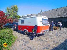 """Mit dem Touring Troll 530 """"Rockabilly"""" von Eriba ist die Gruppe der Caravans vertreten. (Foto: tom/DCI)"""