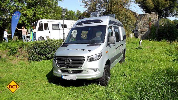 Der Caravan Salon Düsseldorf 2019 bittet zum Pressegespräch und stellt gleich einige Fahrzeuge vor. (Foto: tom/D.C.I.)
