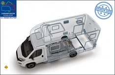 Al-Ko Hybrid Power-Chassis: Zur zweiten Jahreshälfte 2020 sollen erste HPC-Konfigurationen für Reisemobile mit elektrifizierter Hinterachse und Fiat Ducato Triebkopf verfügbar sein. (Foto: Al-Ko)