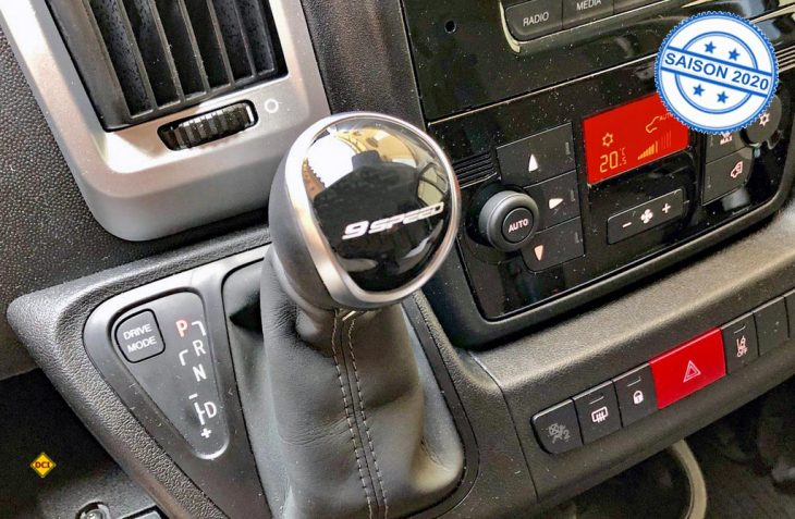 Das Basisfahrzeug Nr. 1 im Reisemobilbereich ist der Fiat Ducato, der jetzt erstmals ein 9-Gang-Wandlerautomatik-Getriebe bekommt. (Foto: det / D.C.I.)
