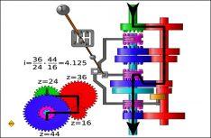 So funktioniert der Kraftfluss vom Motor über das manuelle Schaltgetriebe zum Antrieb. (Grafik: D.C.I.-Archiv)