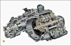 Doppelkupplungsgetriebe sind beleibt und bewährt, aber bei größeren Reisemobilen nicht im Einsatz. (Foto: VW)