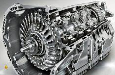 Aufwändige, aber solide Technik: Ein 9-Gang-Wandlerautomat 9Gtronic von Mercedes-Benz. (Foto: Mercedes-Benz)