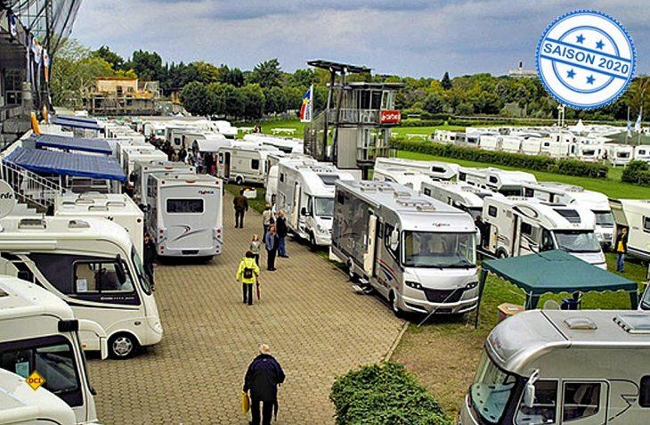 Andere Pferdestärken auf der Rennbahn Horn: Die Hamburger Caravaning-Händler präsentieren sich auf der Trabrennbahn Hamburg-Horn. (Foto: Hamburg-Caravaning)