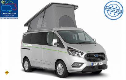Mit dem Globevan e.Hybrid stellt Dethleffs als erster Reisemobil-Hersteller ein e-Reisemobil mit Hybridantrieb vor. (Foto: Dethleffs)