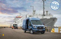 Ford hat seinen leichten Transporter Transit umfassend erneuert und durch eine Gewichtsreduzierung die Nutzlast erhöht. (Foto: Ford)