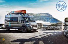 Auf Basis des Transporters Boxer mit 4x4-Antrieb bringt Peugeot eine attraktive Reisemobil-Studie Boxer 4x4 Concept für Outdoor-Fans. (Foto: Peugeot)