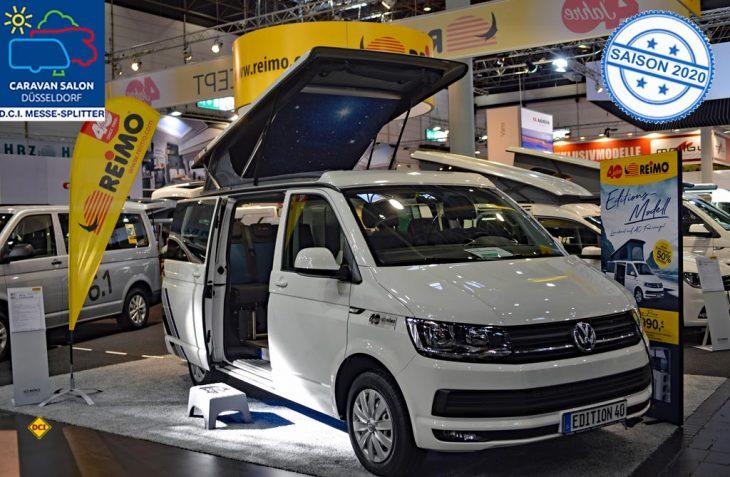 Anlässlich seines 40-jährigen Firmenjubiläums legt Reimo, der bekannte Hersteller von Reisemobilen und Anbieter für Campingzubehör, eine Sonderedition seines Campingbusses Avantgarde auf. (Foto: det / D.C.I.)